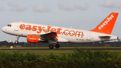 HB-JZN - Airbus A319-111 - easyJet Switzerland