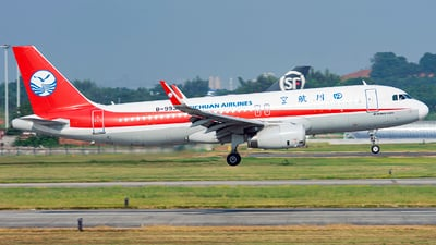 A picture of B9935 - Airbus A320232 - Sichuan Airlines - © JohnMPeng