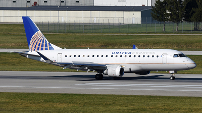 A picture of N88332 - Embraer E175LR - United Airlines - © DJ Reed - OPShots Photo Team