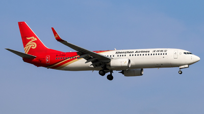 B-7750 - Boeing 737-87L - Shenzhen Airlines