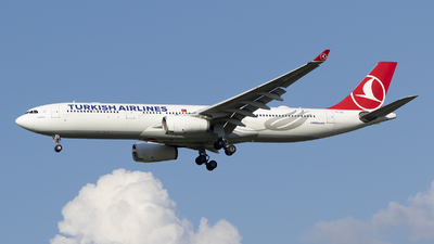 A picture of TCJNL - Airbus A330343 - Turkish Airlines - © RAFAL KUKOWSKI