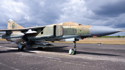 20-13 - Mikoyan-Gurevich MiG-23ML Flogger G - German Democratic Republic - Air Force