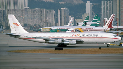 VR-HKK - Boeing 707-336C - Air Hong Kong