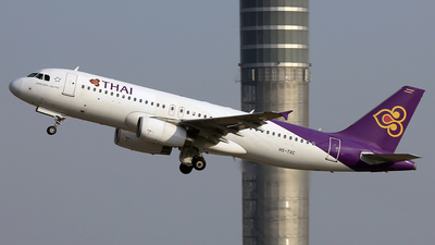 HS-TXC - Airbus A320-232 - Thai Airways International