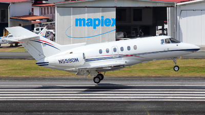 N559DM - Raytheon Hawker 800 - Private