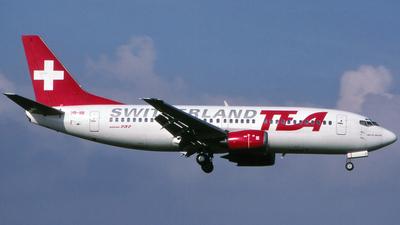 HB-IIB - Boeing 737-3M8 - TEA Switzerland