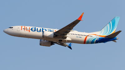 A6-FMG - Boeing 737-8 MAX - flydubai