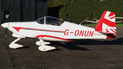 G-ONUN - Vans RV-6A - Private