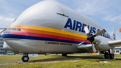 F-GDSG - Aero-Spacelines 377SGT Super Guppy - Airbus Industrie