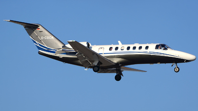 D-CSCA - Cessna 525 Citation CJ3 - Silver Cloud Air