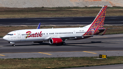 PK-LBG - Boeing 737-9GPER - Batik Air
