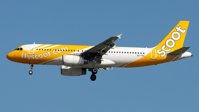 A picture of 9VTRQ - Airbus A320232 - Scoot - © Sebastian Sowa