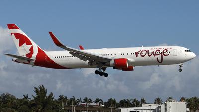 C-FMWU - Boeing 767-333(ER) - Air Canada Rouge