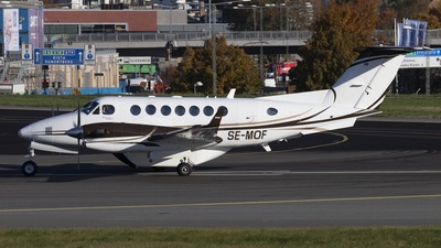 A picture of SEMOF - Beech King Air 350i - Svenskt Industriflyg - © Anders Nilsson