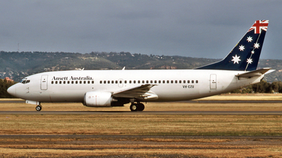 VH-CZU - Boeing 737-33A - Ansett Airways