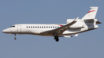 VP-CHX - Dassault Falcon 8X - Private