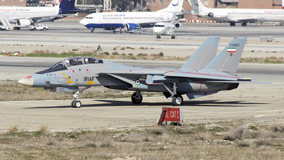 3-6002 - Grumman F-14A Tomcat - Iran - Air Force