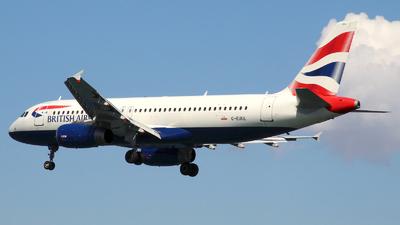 G-EUUL - Airbus A320-232 - British Airways