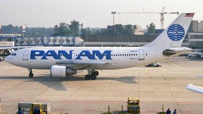 N801PA - Airbus A310-221 - Pan Am