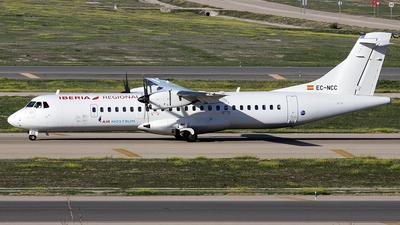 A picture of ECNCC - ATR 72600 - Iberia - © La Roche Spotters