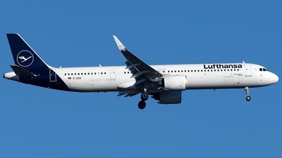 A picture of DAIEE - Airbus A321271NX - Lufthansa - © Maximilian Haertl