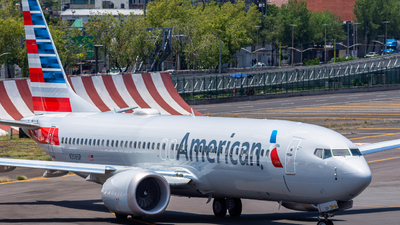 A picture of N306SP - Boeing 737 MAX 8 - American Airlines - © Hans Bravo