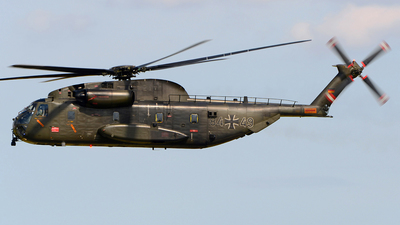 84-49 - Sikorsky CH-53G - Germany - Air Force