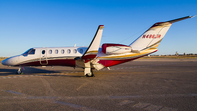 N486JR - Cessna 525 Citation CJ3 - Private