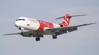 EP-FQF - Fokker 100 - Qeshm Air