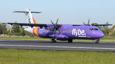 EI-FMJ - ATR 72-212A(600) - Flybe (Stobart Air)