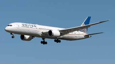 A picture of N27964 - Boeing 7879 Dreamliner - United Airlines - © Sebastian Thiel