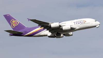 A picture of HSTUD - Airbus A380841 - Thai Airways - © Dan Smith