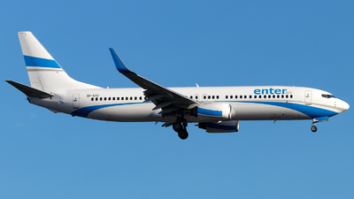 SP-ESC - Boeing 737-8AS - Enter Air