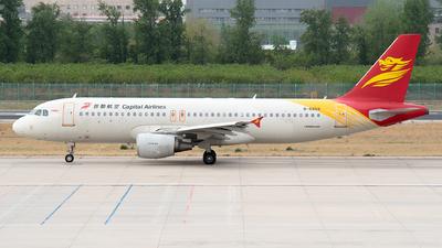 B-6858 - Airbus A320-214 - Capital Airlines