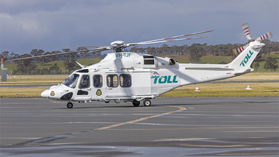VH-TJF - Agusta-Westland AW-139 - Toll Helicopters NSW