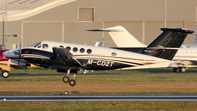 M-CDZT - Beechcraft B200 Super King Air - BAe Systems