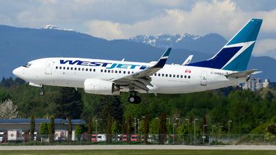 C-GWBJ - Boeing 737-7CT - WestJet Airlines