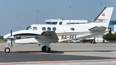 9A-SET - Beechcraft C90A King Air - Private