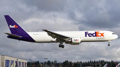 A picture of N273FE - Boeing 767300F(ER) - FedEx - © Lucas Burch