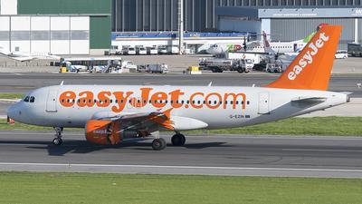 G-EZIN - Airbus A319-111 - easyJet
