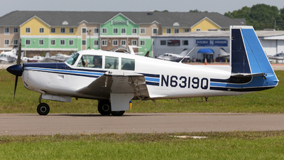 N6319Q - Mooney M20F - Private