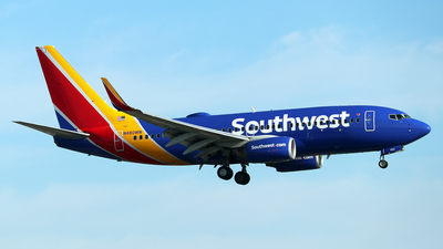 N480WN - Boeing 737-7H4 - Southwest Airlines
