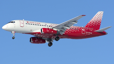 A picture of RA89126 - Sukhoi Superjet 10095B - Rossiya - © SN7756