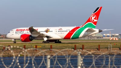 A picture of 5YKZG - Boeing 7878 Dreamliner - Kenya Airways - © Andy Fonseca