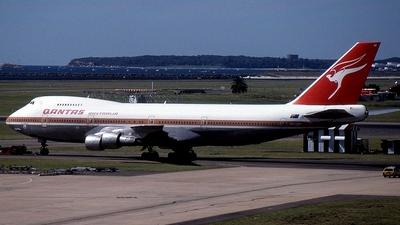 VH-EBP - Boeing 747-238B - Qantas
