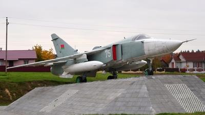 75 - Sukhoi Su-24MR Fencer - Belarus - Air Force