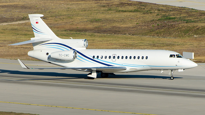 TC-CMC - Dassault Falcon 7X - Private