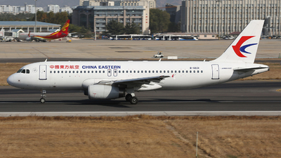 A picture of B6601 - Airbus A320232 - China Eastern Airlines - © SEN BAI