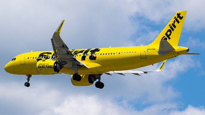 A picture of N902NK - Airbus A320271N - Spirit Airlines - © Evan Dougherty