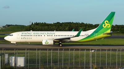 JA03GR - Boeing 737-86N - Spring Airlines Japan